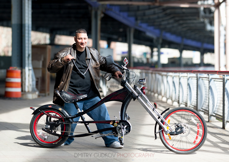 New York Bike Portrait Ricky And His Custom Schwinn Stingray