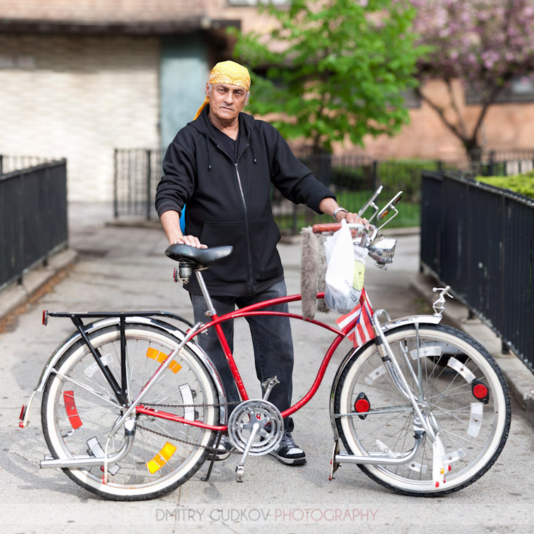 New York Bicycle Portrait: Joe and his Schwinn