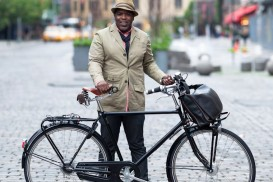 New York Bike Portrait Shawn Drayton