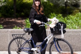 New York Bike Portrait: Coco and her dog Kika