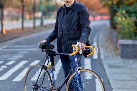 Bicycle Portrait Ed Lederman