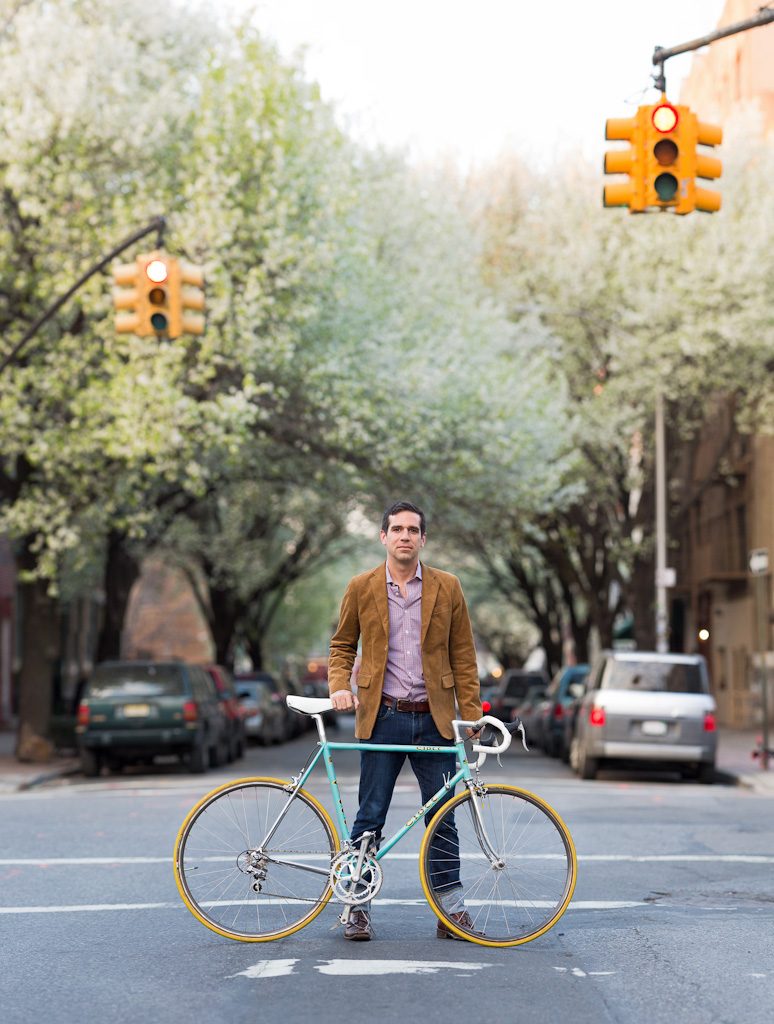 havermeyer st williamsburg bicycle portrait