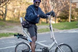 Prospect park bike portrait xavier
