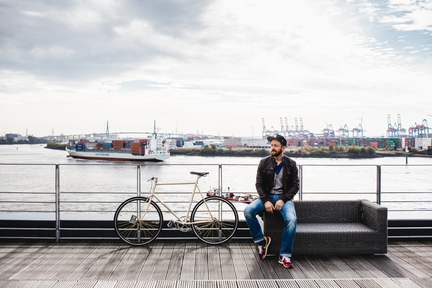 We Are Traffic : Bike Portraits from Hamburg