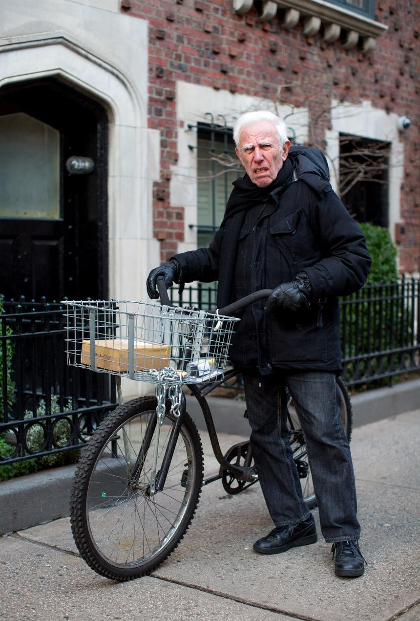 manhattan bike portrait bob gill