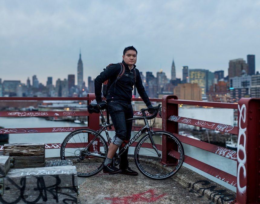 specialized bike pulaski bridge bike portrait