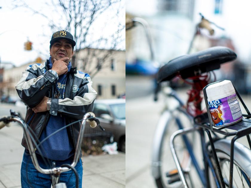 penny can kool aid bike portrait