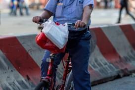 mailman bike portrait new york
