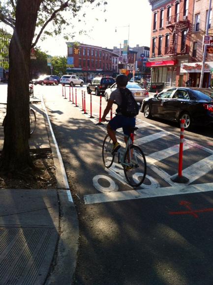 bergen street bike lane