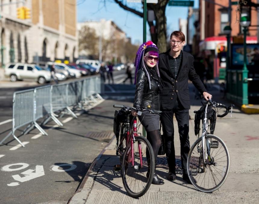 bike portrait ian dutton bergen street bike lane