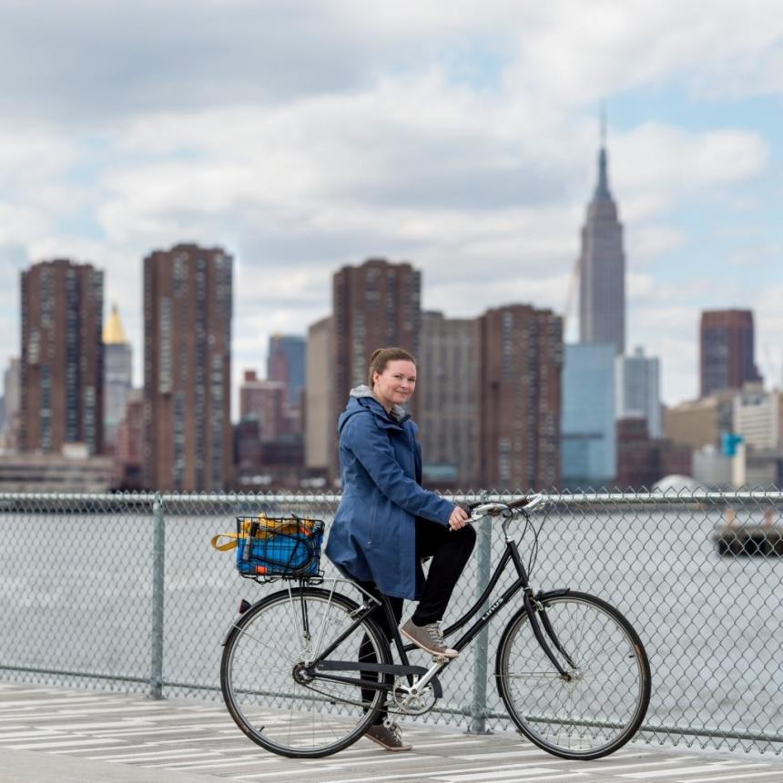 linus bike in brooklyn new york city