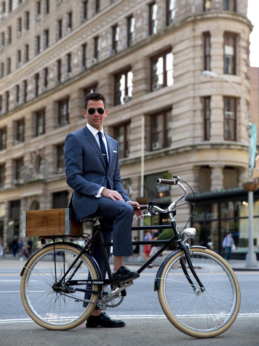 george hahn brooklyn cruiser bike flatiron building
