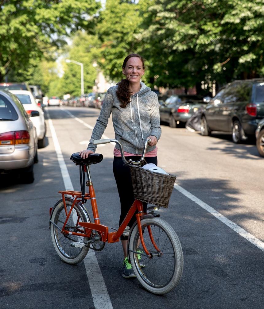 ilea greenpoint astra folding bike