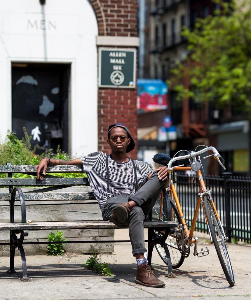 bike portrait new york
