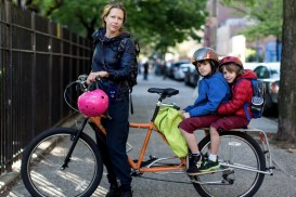 bike portrait xtracycle mom kids