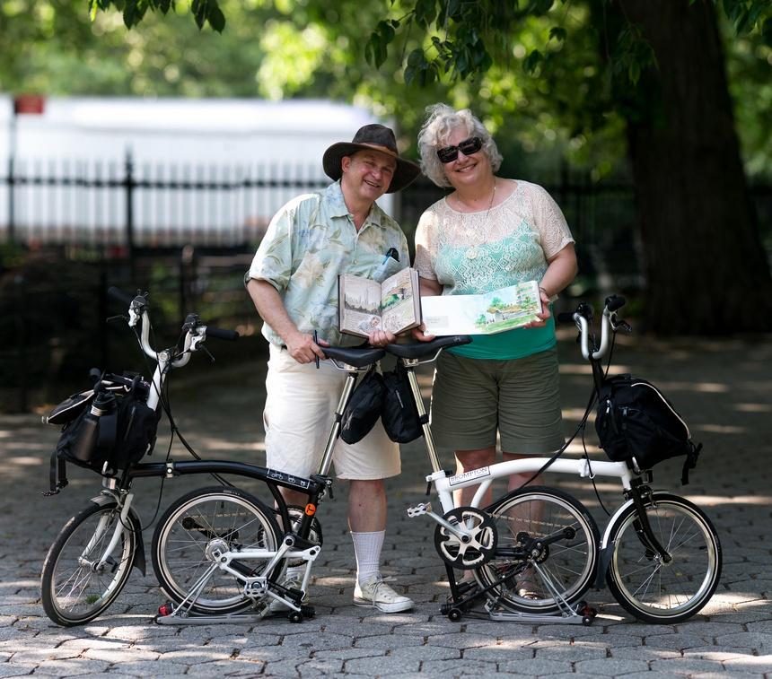 ken avidor roberta avidor brompton bicycles