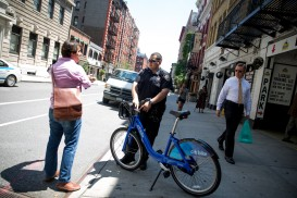 nypd police bike ticket