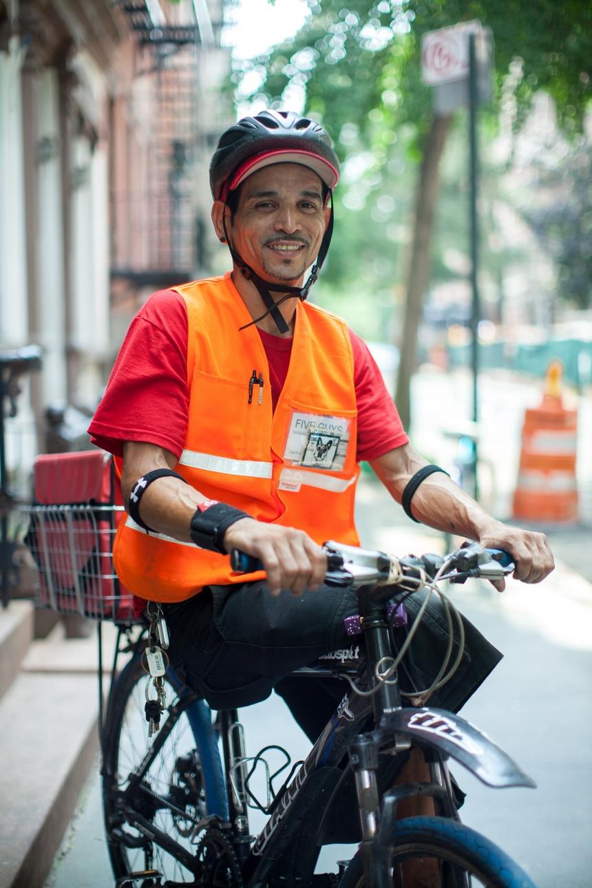 new york bike delivery guy