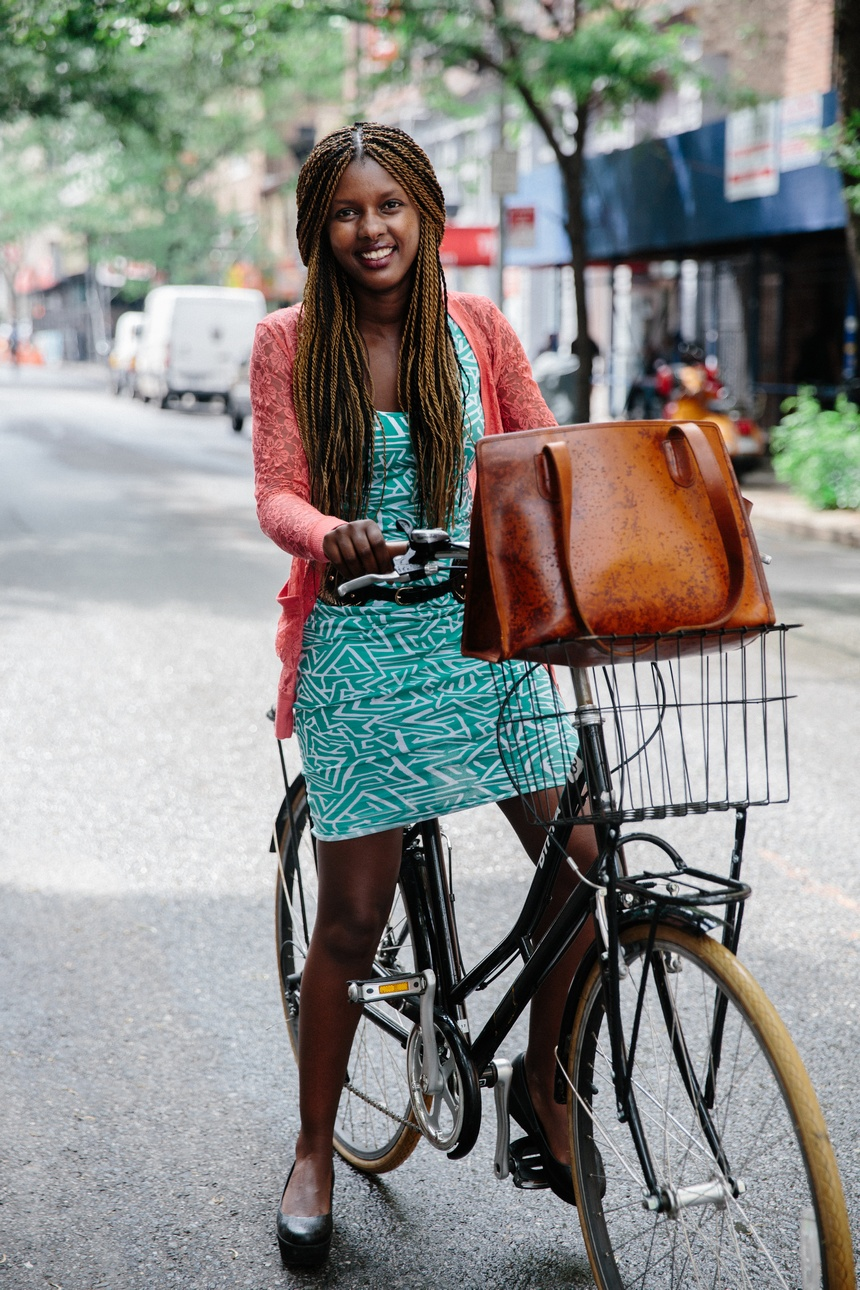 new york bike fashion