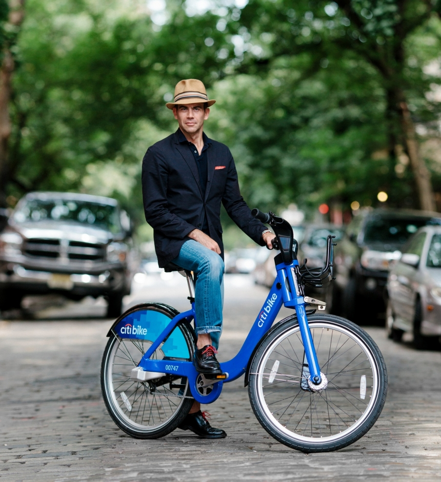 George Hahn Citi Bike Fashion