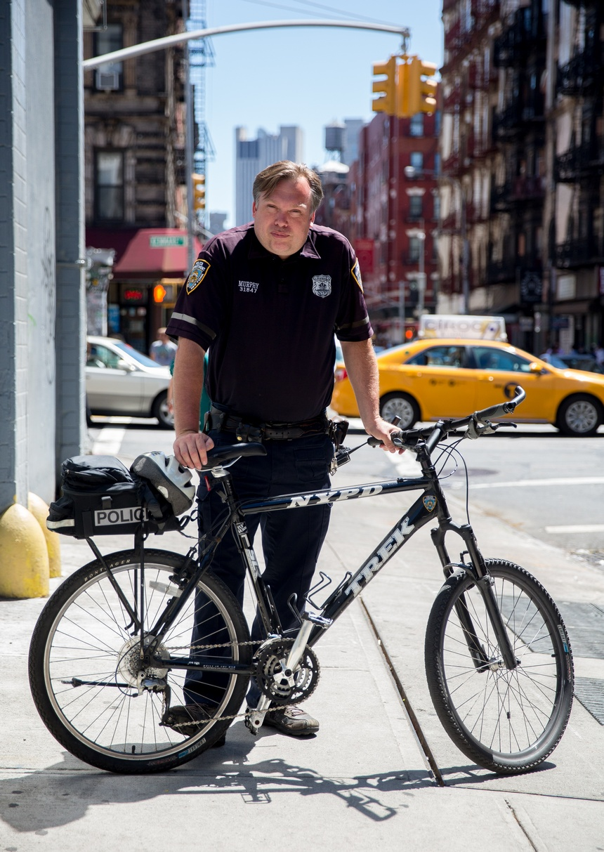Patrick: NYPD Officer on a Bike
